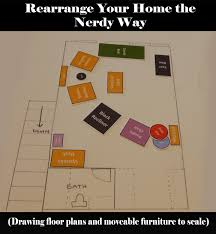 floor plan with furniture drawn to scale a nerd u0027s dream realized