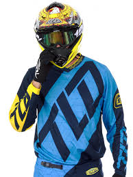 motocross jersey design troy lee designs blue yellow 2017 gp quest mx jersey troy lee