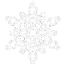 best photos of snowflake outline template printable snowflake