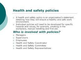 participate in occupational health safety u0026 welfare ppt