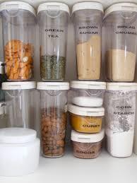 kitchen smart and minimalist kitchen storage organization food