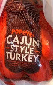 a popeyes cajun style turkey review welcome to glitter gumbo