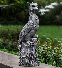 cast garden statue wind weather