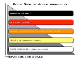 colors of orange armed defense training association the color code of awareness