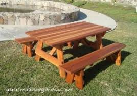 picnic table plans detached benches 21 wooden picnic tables plans and instructions guide patterns