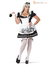 stockings halloween size 6 22 ladies dark alice costume stockings fancy dress womens