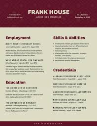 Premade Resume Maroon And Gray Simple Minimalist Resume Templates By Canva