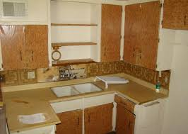 ugly kitchen cabinet doors covered with shelf paper dirty phoenix