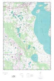 Elevation Map Of Florida by Mytopo Lake Tohopekaliga Florida Usgs Quad Topo Map