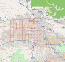 map of burbank ca valley los angeles
