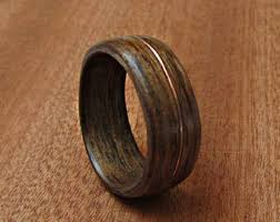 wooden wedding bands wood wedding band etsy