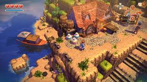 game review oceanhorn monster of uncharted seas ps vita vita