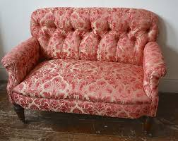 Pink Leather Chair by Leather Chairs Of Bath Early Victorian Sofa Antique Sofa Antique