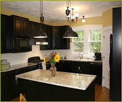 colors for a kitchen with dark cabinets colors to paint kitchen with dark cabinets home design ideas