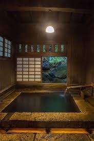 japanese spring onsen house plans pinterest
