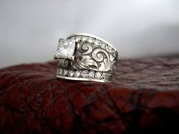 country wedding rings engagement rings fit for a western wedding rings