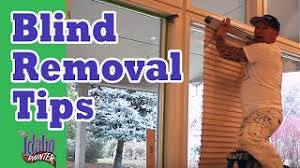 How To Take Down Blinds How To Take Down A Venetian Blind How To Remove A Venetian Blind