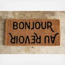 Bonjour Doormat Ryan Fair And Stephanie Thomas U0027s Wedding Registry On Zola Zola