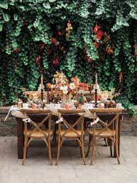 outdoor thanksgiving a thanksgiving tablescape styled with rich warm tones the