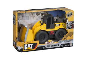 amazon com toy state cat big builder wheel loader lands shaking