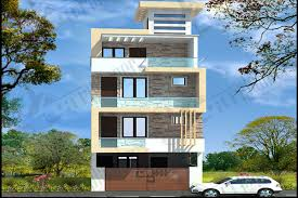 Triplex House Plans Multistory Housing Plans Group Housing Plans Ghar Planner