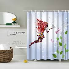 palm tree fabric shower curtains patterned valance white acrylic