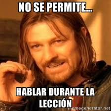 Spanish Memes - las reglas de clase spanish memes for class rules and procedures