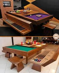 Many People Wish They Owned A Pool Table But Just Dont Have The - Pool table dining room table top