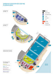floor plans darwin convention centre