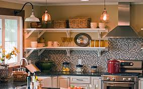 Copper Pendant Lights Kitchen Copper Pendant Lights U0026 Goooseneck Light In Diy Blog Cabin Blog