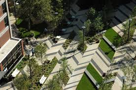 levinson plaza by mikyoung kim landscape architecture works