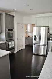 a two toned client kitchen an announcement evolution of style