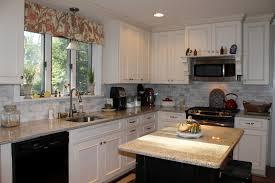 distressed white kitchen cabinets kitchen decoration