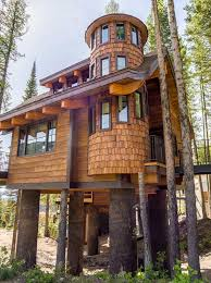 chalet house snow chalets luxury vacation rental treehouses on whitefish mt