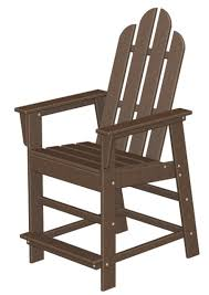 island tall adirondack chair