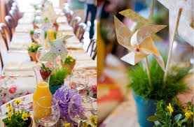 Practical and Functional With Recycled Wedding Décor