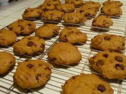 bookish baking pumpkin chocolate chip cookies readers lane