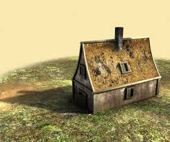 how to create a house game asset in blender part 1 modeling