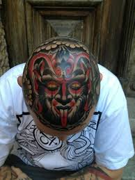 tattoo on the head traditional tattoos traditional tattoos ink