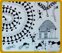 Warli Art Simple Designs Warli Paintings Training Coaching Tuition Course Neetu U0027s Hobby