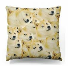 Much Dog Meme - wow such face much meme dog cushion cover funny doge throw pillow