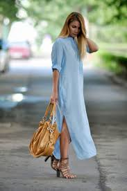how to wear shirt dresses fashiongum com