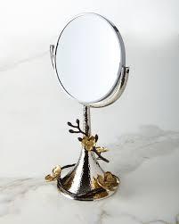 michael aram gold orchid vanity mirror