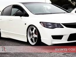 honda civic headlight rtint honda civic sedan 2013 2015 headlight tint