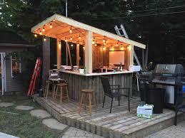 Backyard Shed Bar Backyard Covered Patio Bar Homedesignlatest Site