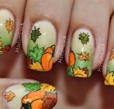30 pictures of fall nail designs picsrelevant