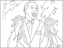 wee herman coloring page free printable coloring pages