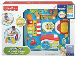 fisher price around the town learning table fisher price laugh learn around the town learning table toys r us