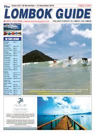 the lombok guide issue 233 by the lombok guide issuu