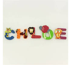 lettre chambre bébé lettre decorative pour chambre bebe 0 lettre bois pr233nom
